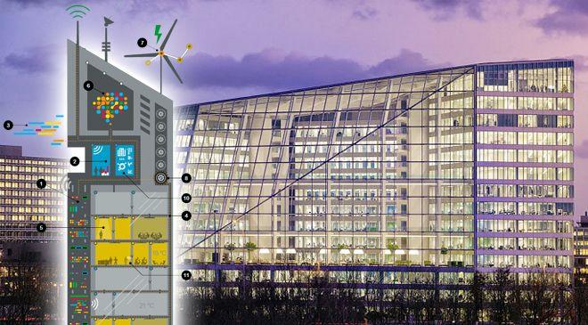 Así será el edificio del futuro